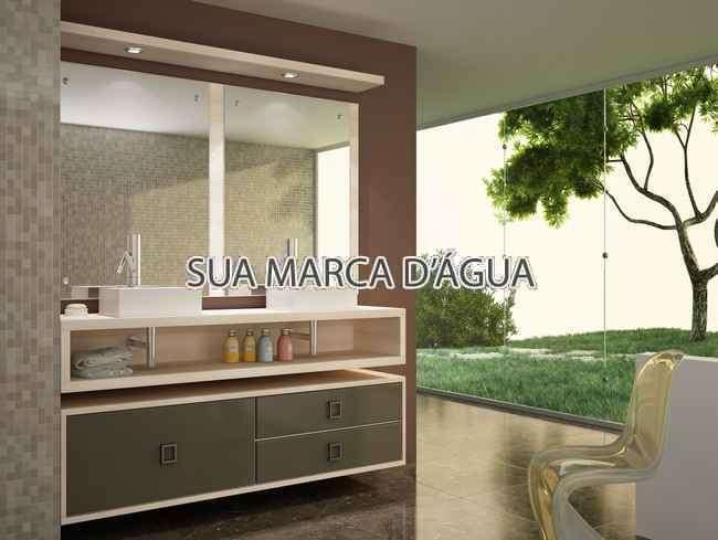 Banheiro - Apartamento Lançamento white house Rua Embuia,Penha Circular,Rio de Janeiro,RJ, À Venda,5 Quartos,240m² - 0005 - 6