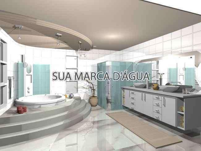 Banheiro - Apartamento Lançamento white house Rua Embuia,Penha Circular,Rio de Janeiro,RJ, À Venda,5 Quartos,240m² - 0005 - 8