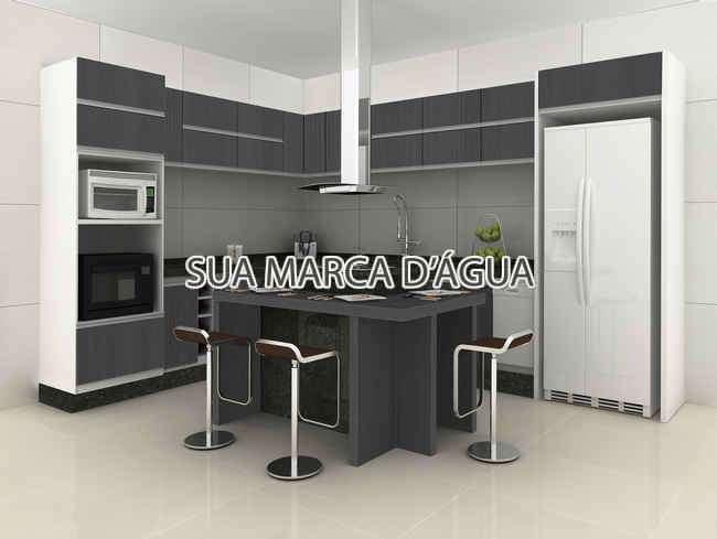 Cozinha - Casa Rua Madre Joana de Gusmão,Centro,São José,SC Para Venda e Aluguel,4 Quartos,324m² - 0015 - 6